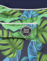 Barth4 - P02. Navy Tropic & Navy Swim Shorts - Barth4 MACKEENE