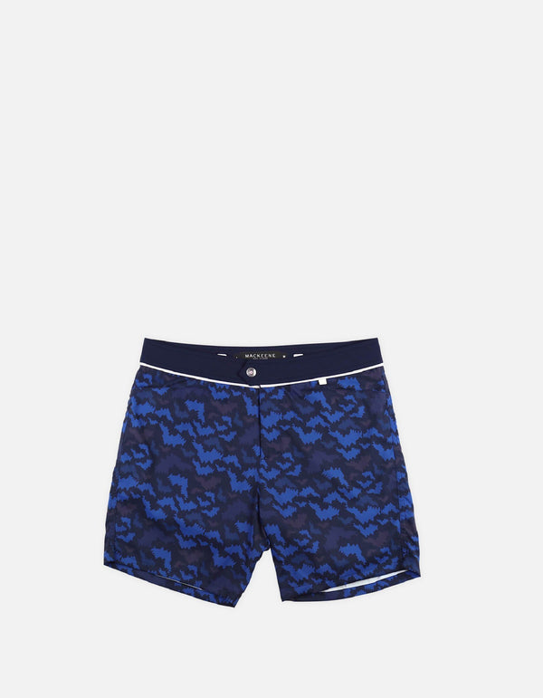 Barth4 - P09. Short de bain St Bat Navy & Navy - Barth4 MACKEENE