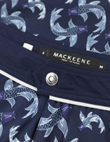 Barth4 - P13. Fish Navy &Bordo Swim Shorts - Barth4 MACKEENE