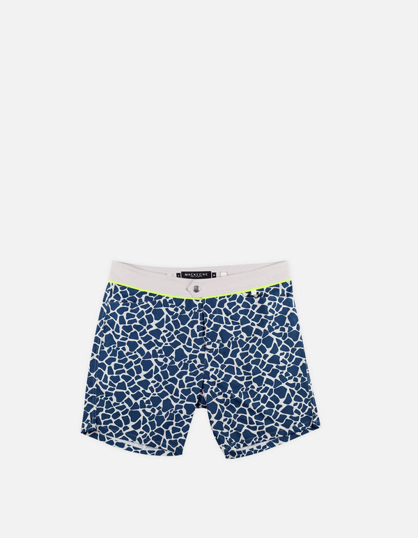 Barth4 - P15. Mini Lakes & Grey Swim Shorts - Barth4 MACKEENE