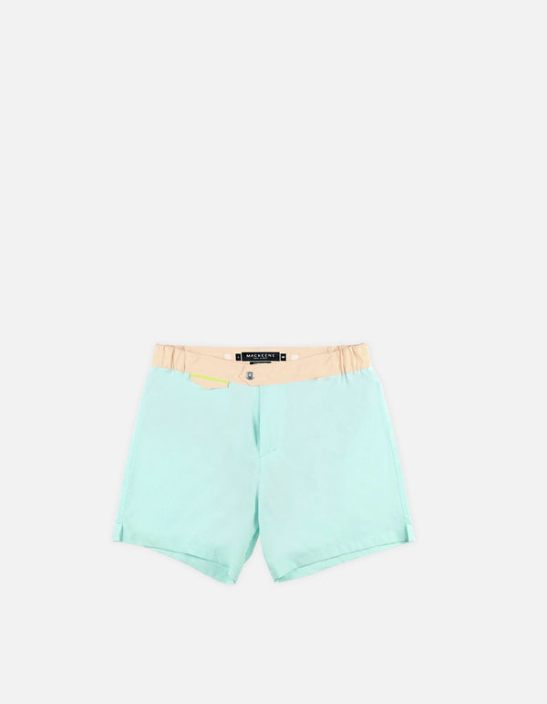 Gize - 03. Sky & Peach Light Swim Shorts - Gize MACKEENE