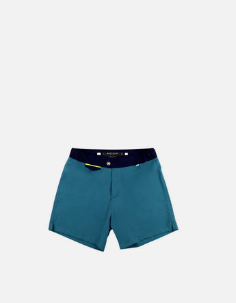 Gize - 05. Duck & Navy Swim Shorts - Gize MACKEENE