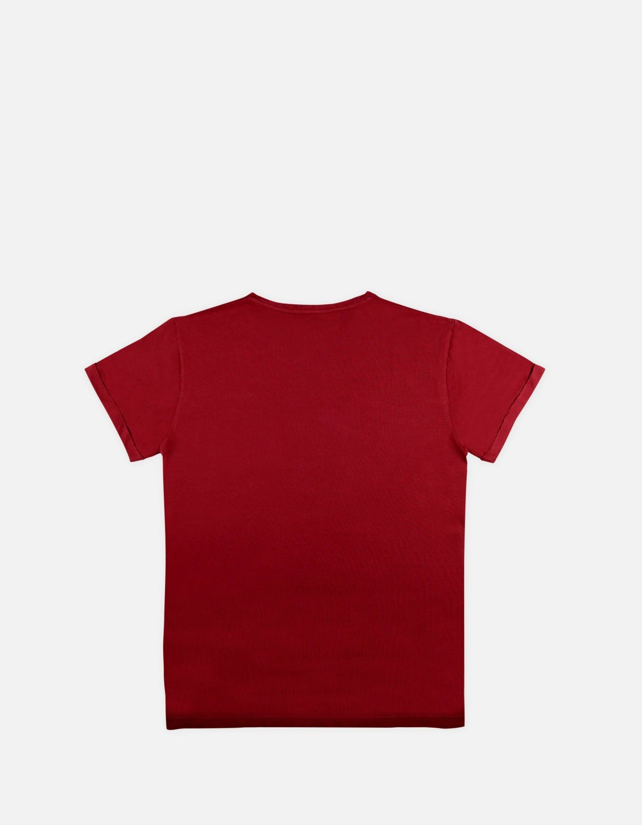 Jef RS - 06. Bordo Cotton T-Shirts - Jef RS MACKEENE