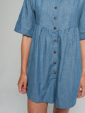 Gina Playsuit in Denim