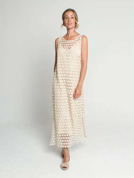 Camilla dress Cream