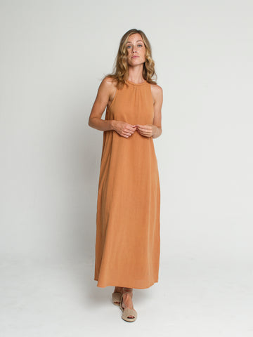 Nusa dress in Apricot