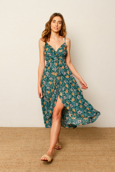 Miranda dress in Flower print