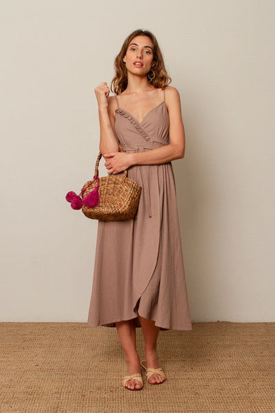 Miranda dress in Mauve