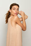 Nusa dress in Nude