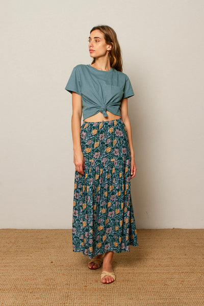 Alexa skirt in Flower print