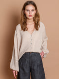 Chloe blouse in Nut