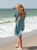 Vestido Mini Lauren dress turquoise