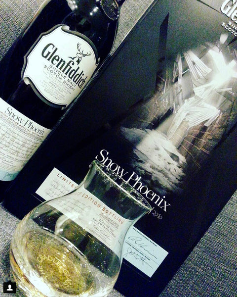 Taking the Glenfiddich Snow Phoenix for a Spin in the Cradle Glass
