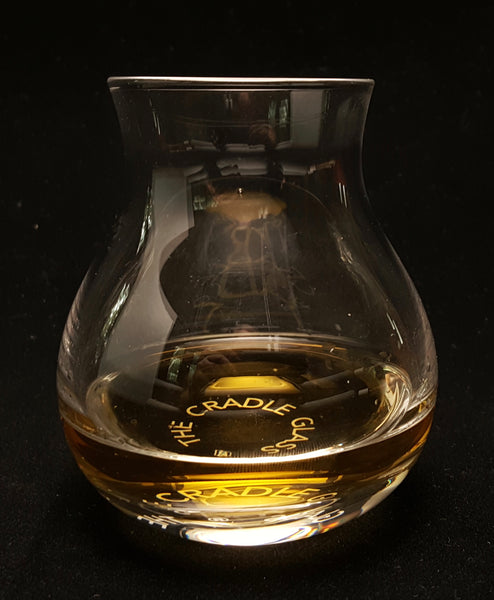 whisky glass, cradle glass, whisky, whiskey glass, rocking glass
