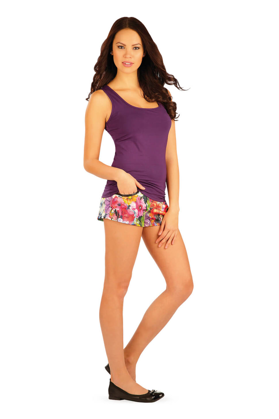 Women's Purple Tank - onelike