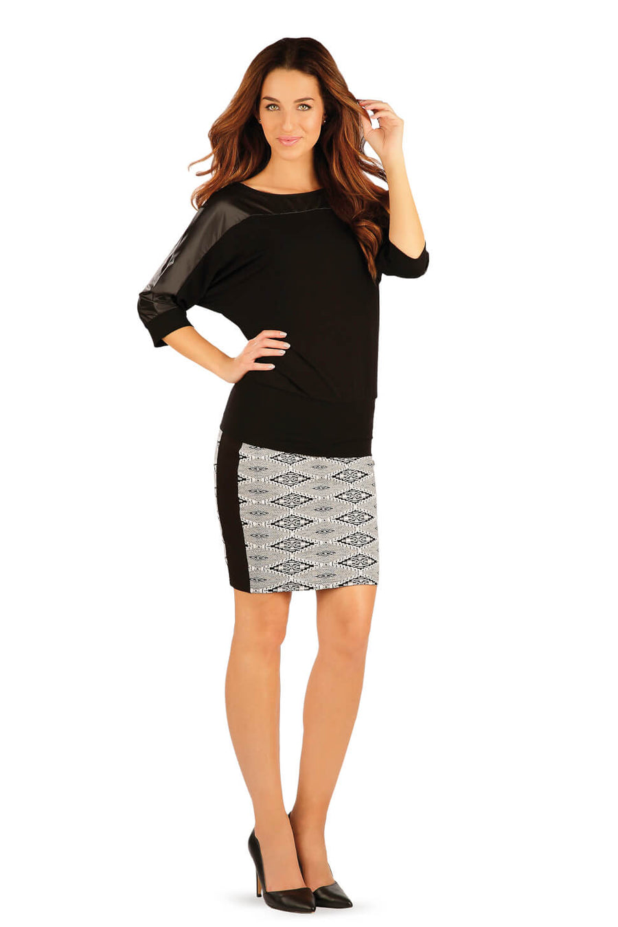 Women's Patterned Skirt