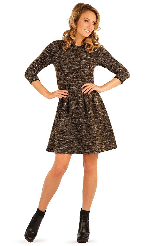 Women's Knit Metallic Dress - onelike