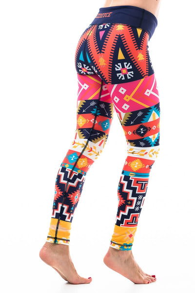 Aztec Leggings - onelike
