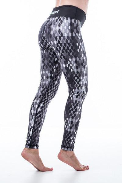Digital Snake Skin Leggings - onelike