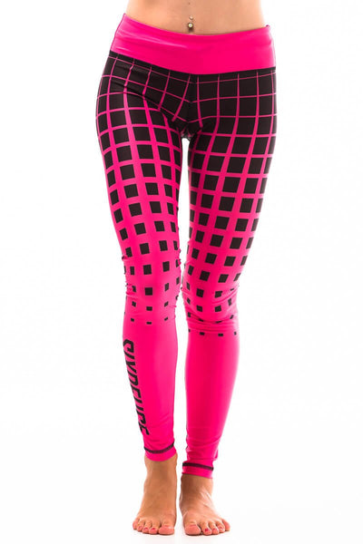 Leggings Pink Halftone Crossfit