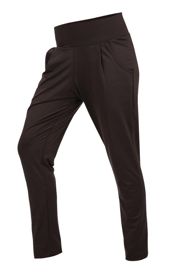 Women's Long Drop Crotch Pants Black