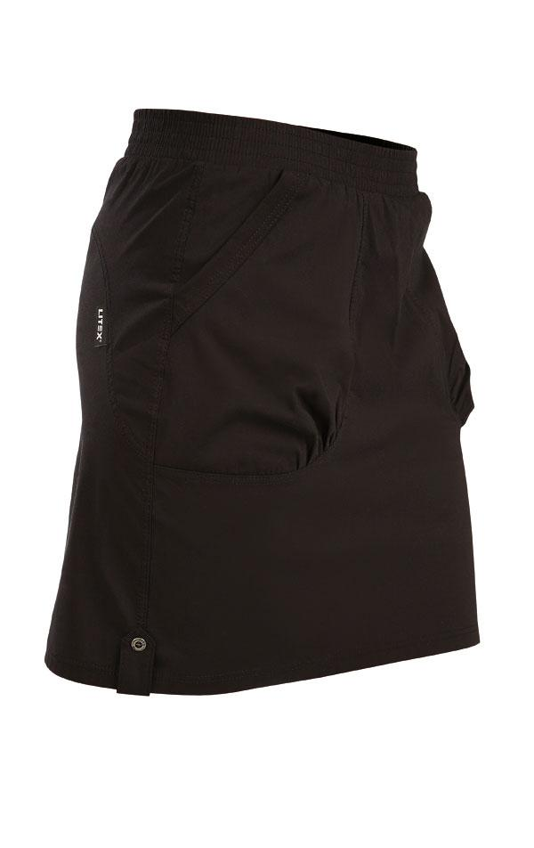 Black Sport Skirt With Pockets