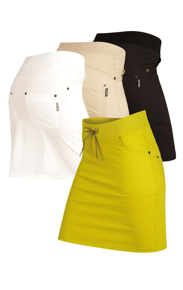 Elastic Sport Skirt With Pockets