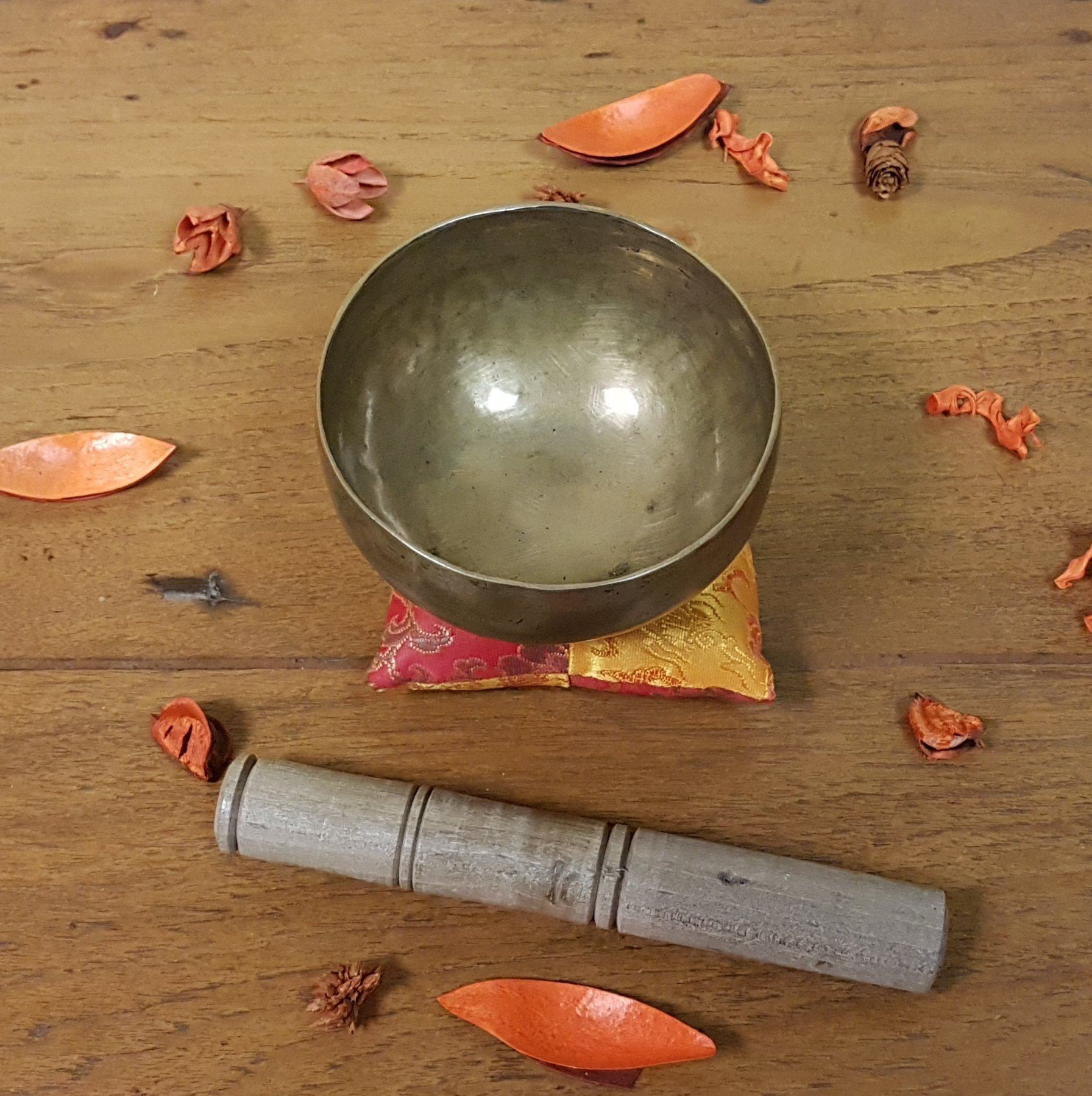 Klangschale, Singing Bowl, Antik, Tibet