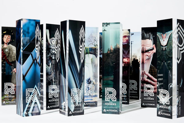 2020 Official Trophy - Rookie Awards
