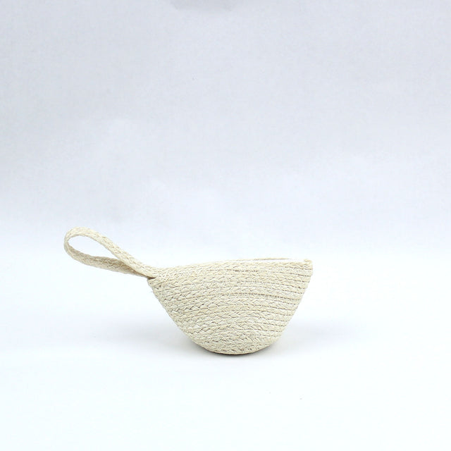 Mini Straw Coin Purse