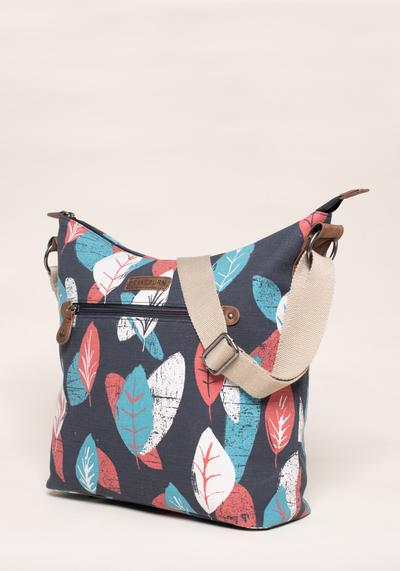 BRAKEBURN TEXTURED LEAF HOBO BAG