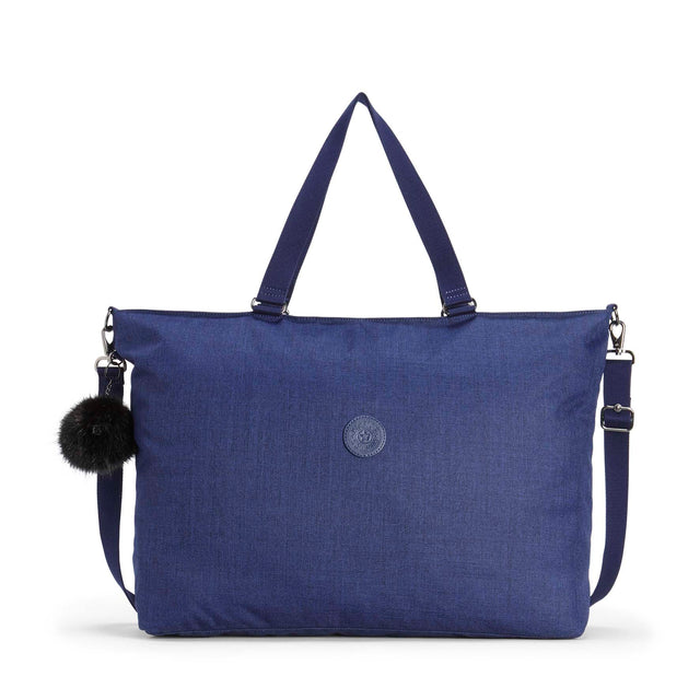 Kipling XL Bag Cotton Indigo ( FW18 )