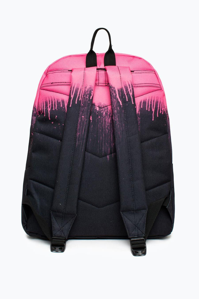 Hype Pink Drips Backpack AW19