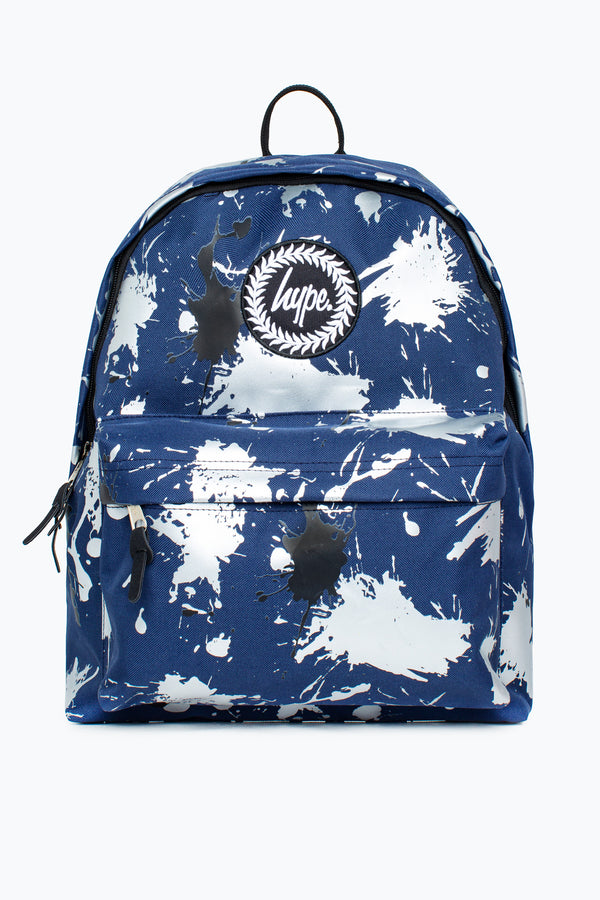 HYPE NAVY LARGE SPLATTER BACKPACK