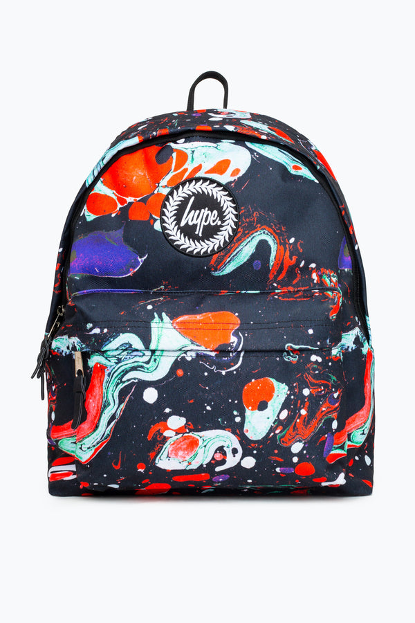 HYPE RED MARBLE BACKPACK
