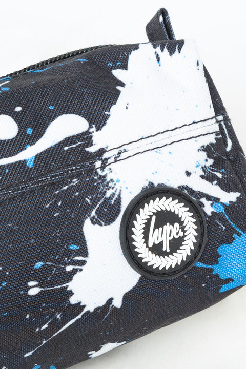 HYPE BLACK LARGE SPLATTER PENCIL CASE