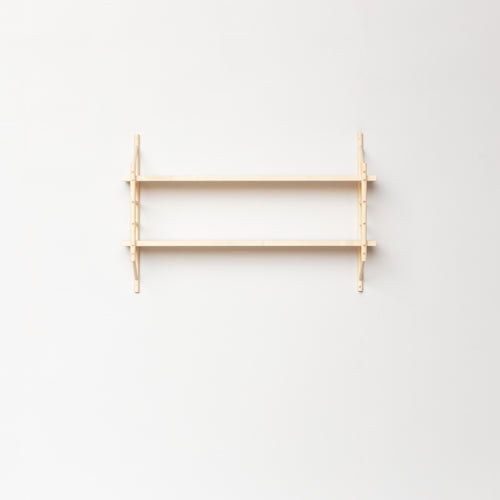 MIMA Shelving 2 shelf set