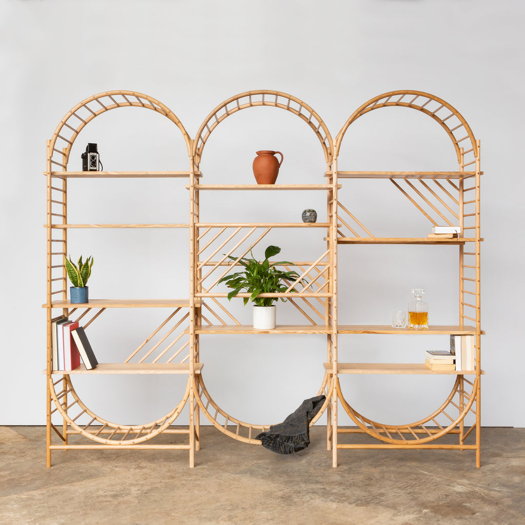 TRELLIS Shelving Triple Unit