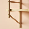 MIMA Shelving 2 shelf set bracket detail