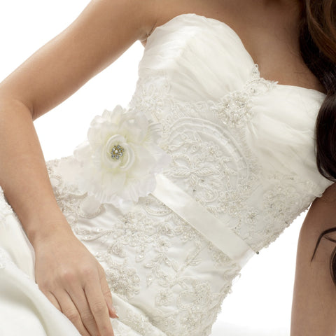 Amy Bridal Sash Belt
