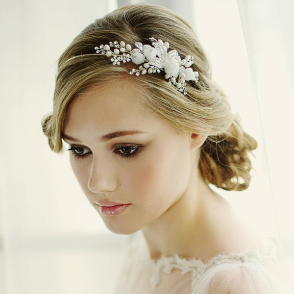 Clara Romantic Bridal Headband