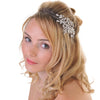 Side Wearing Headband With Beautiful Flowers
