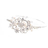 Wedding Side Headband Present With Filigree Swirls