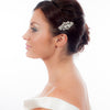 Wedding Hair Clip Encrusted With Crystals