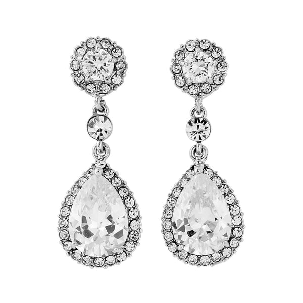 Crystal Chic Bridal Earrings