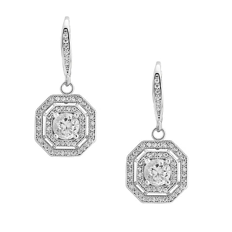 Crystal Deco Bridal Earrings