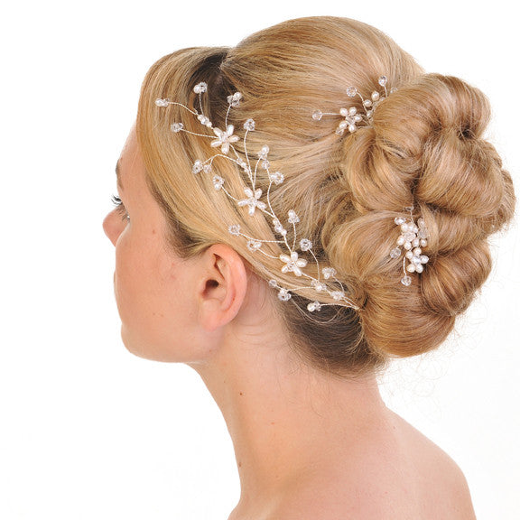Modern & Light Sophisticated Hair Vine With Pearls