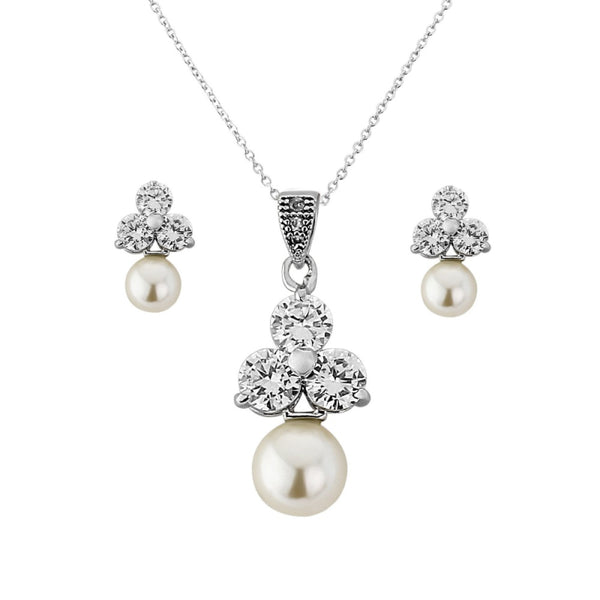 Chic Starlet Necklace & Earrings Set