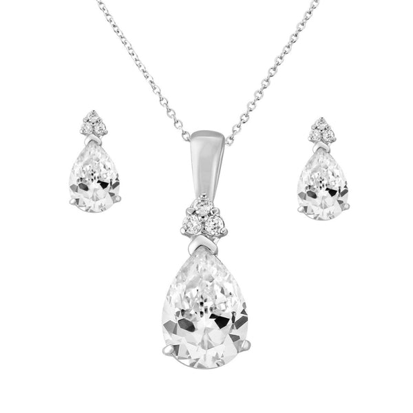 Delicate Starlet Necklace & Earrings Set