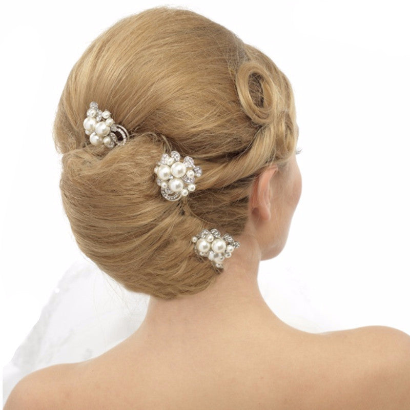 Crystal & Pearl Luxe Hair Pin ELITE COLLECTION